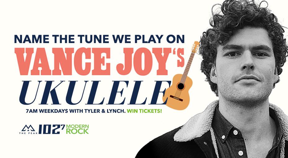 Feature: http://www.thepeak.fm/win-tickets-to-vance-joy/