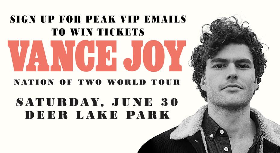 Email Subscribers: Win a pair of tickets to see Vance Joy