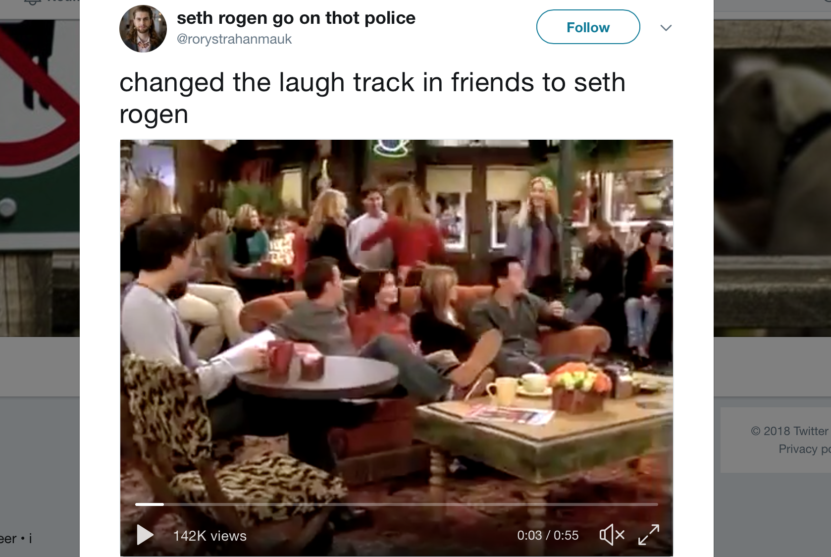 Friends With Seth Rogen Instead Of A Laugh Track