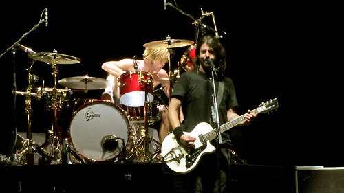 Foo Fighters Cover band performance