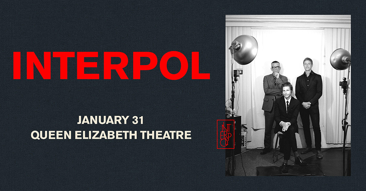 Interpol Coming To Vancouver