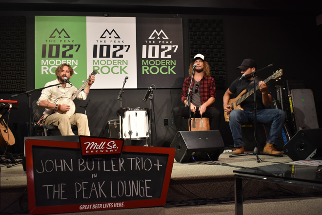 John Butler Trio in THE PEAK Lounge