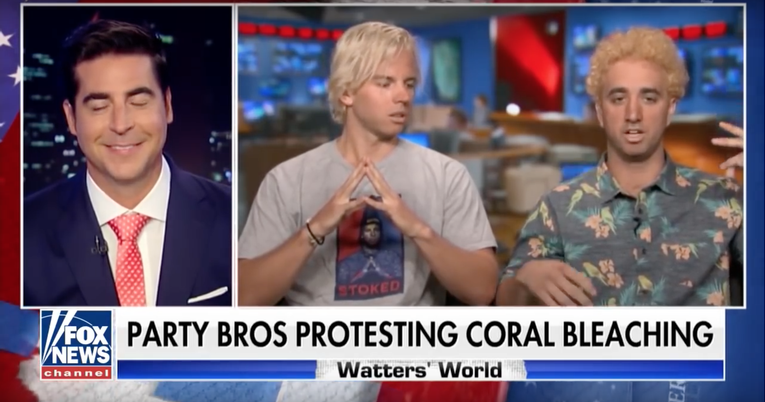 Party Bros Chad And JT Fight Coral Bleaching