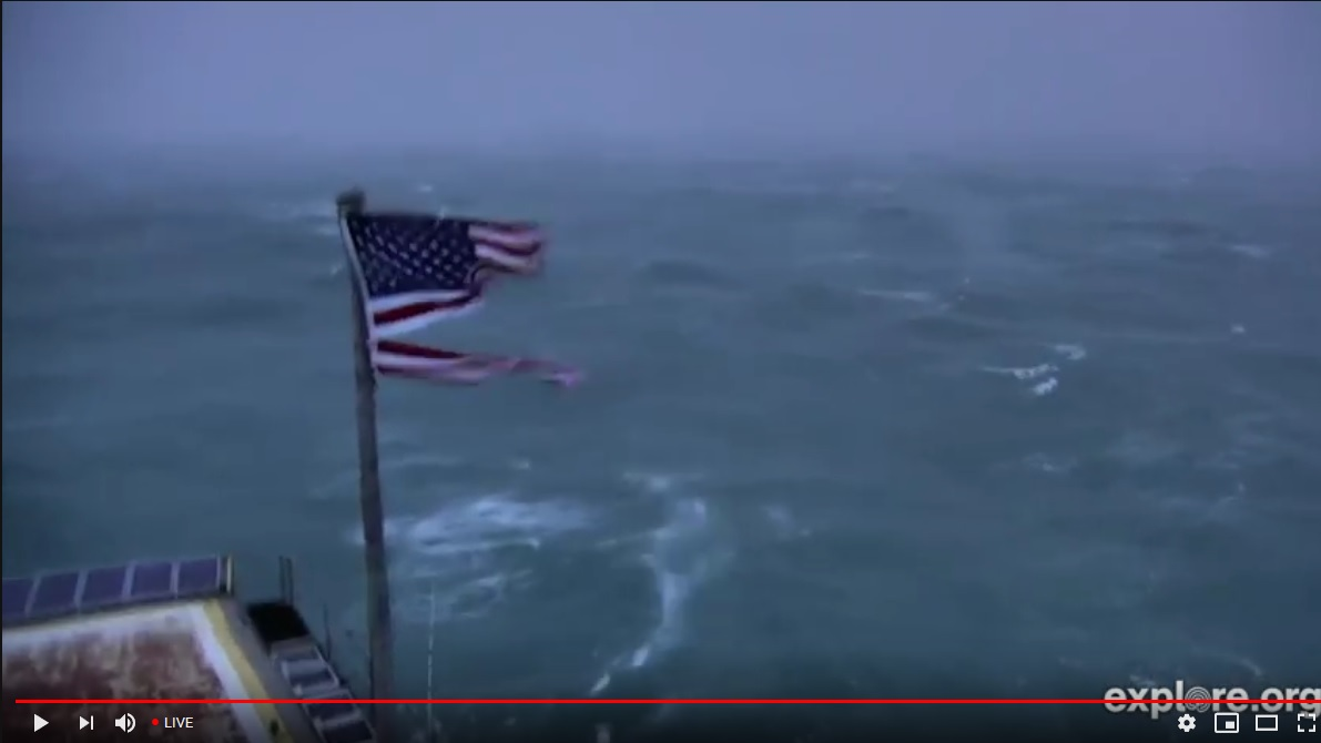 WATCH: Live Video Of Hurricane Florence