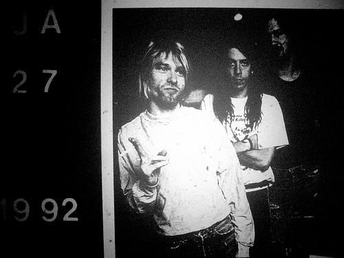 Nirvana jam at Cal Jam