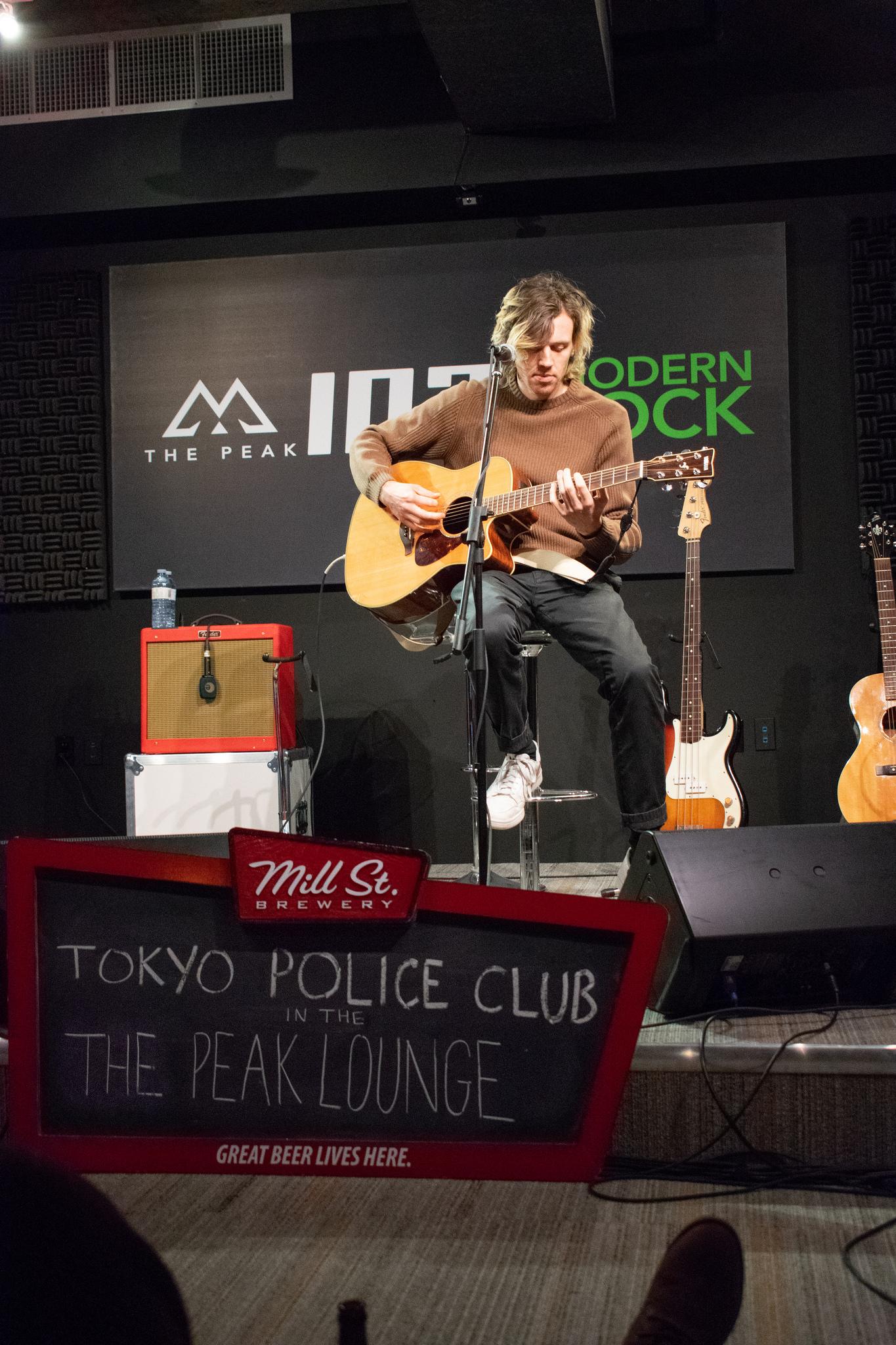 Tokyo Police Club in THE PEAK Lounge