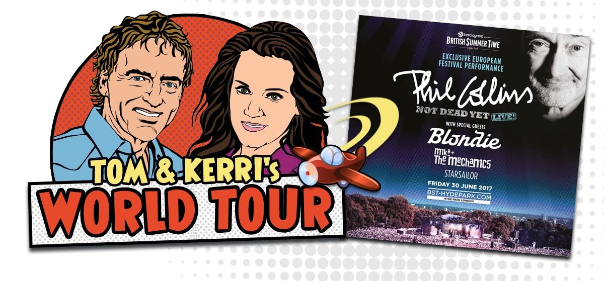 Tom & Kerri's World Tour: Phil Collins