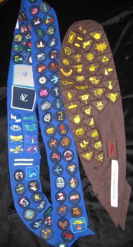 Brownie And Guide Badges!!