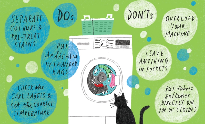 Stuff You Didn't Know You Can Throw in the Washing Machine