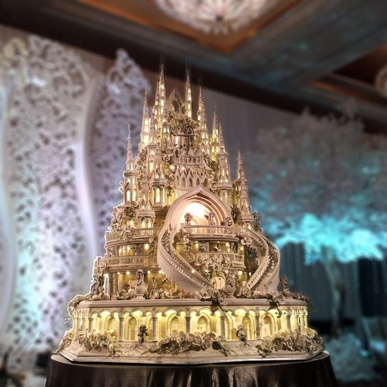 World S Most Elaborate Wedding Cakes 94 3 The Drive