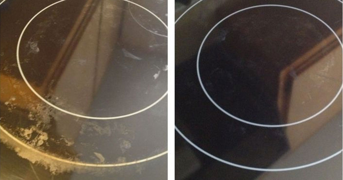 Glass Stove Top Cleaning Hacks