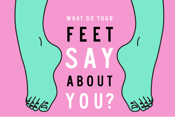 What The Shape Of Your Foot Says About You