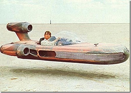 The Force Can Now Be with Every Child! Luke's Landspeeder For Kids!