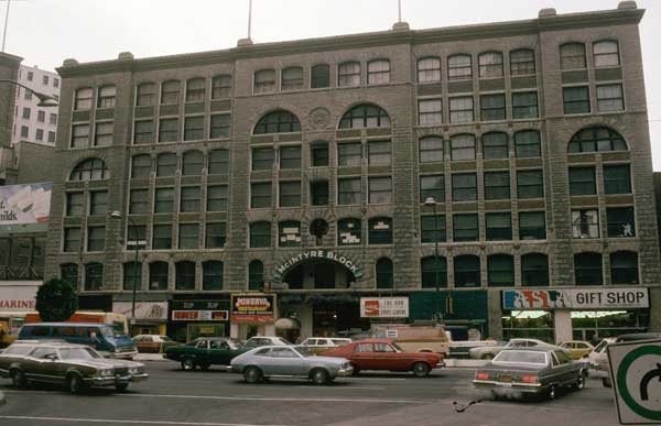 Winnipeg History Buff Rejoice! This is a GREAT video from the NFB about the McIntyre Block!