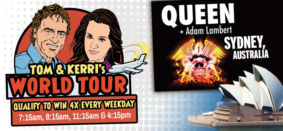 Tom & Kerri's World Tour #11 – Queen + Adam Lambert in Sydney!