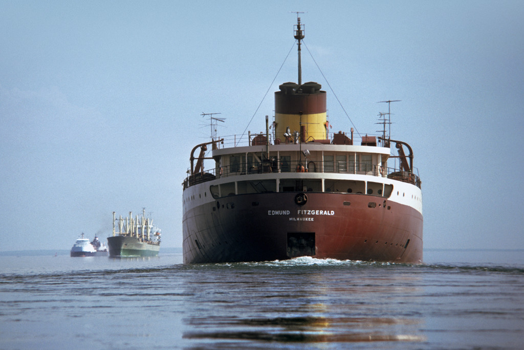 Today is the anniversary of the Wreck of the SS Edmund Fitzgerald