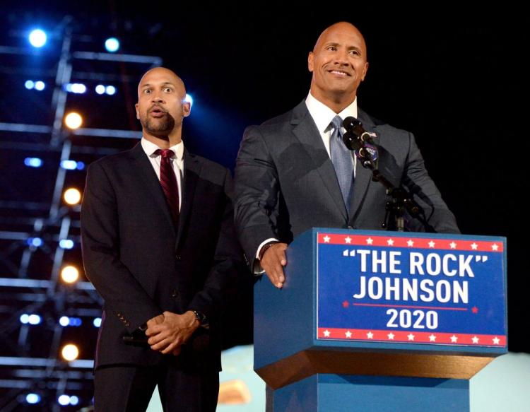 President 'ROCK'?