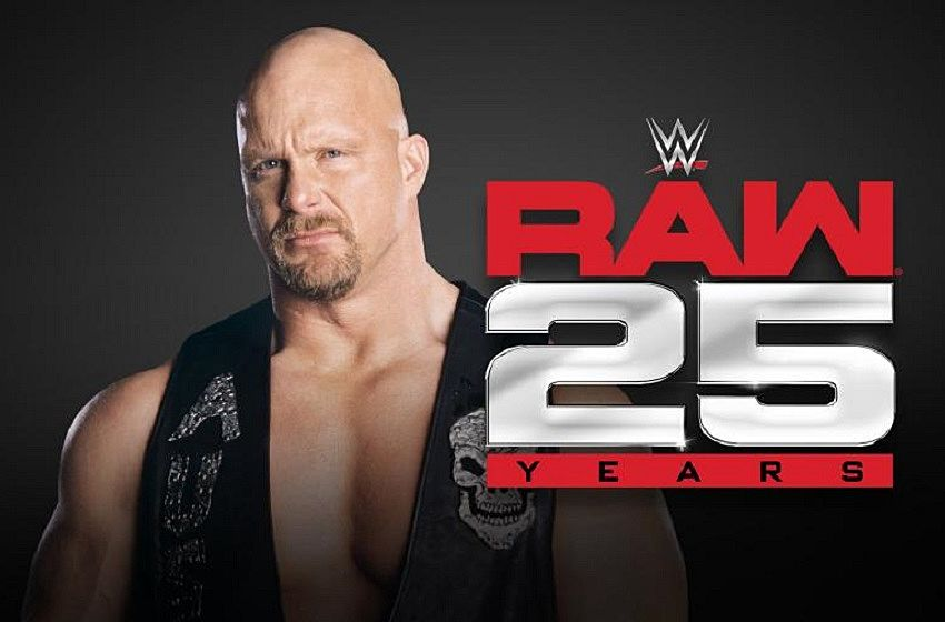Tonight is WWE Monday Night Raw's 25th Anniversary