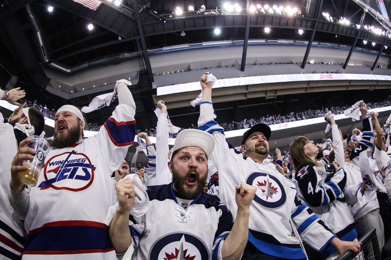 Jets fans' chant game is getting attention across the continent!