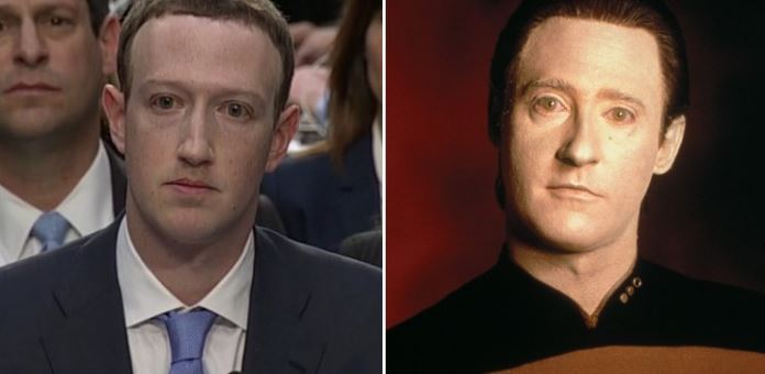 Facebook's Zuckerberg testified in Washington...and the memes are fantastic.