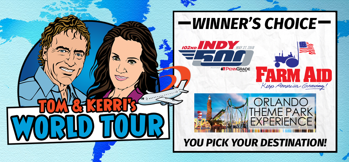 Tom & Kerri's World Tour #15 – WINNERS CHOICE!