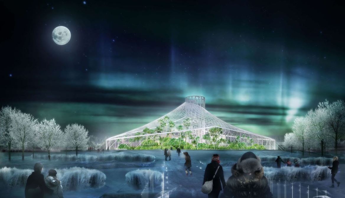 Assiniboine Park is getting an astounding addition...a tropical biodome.