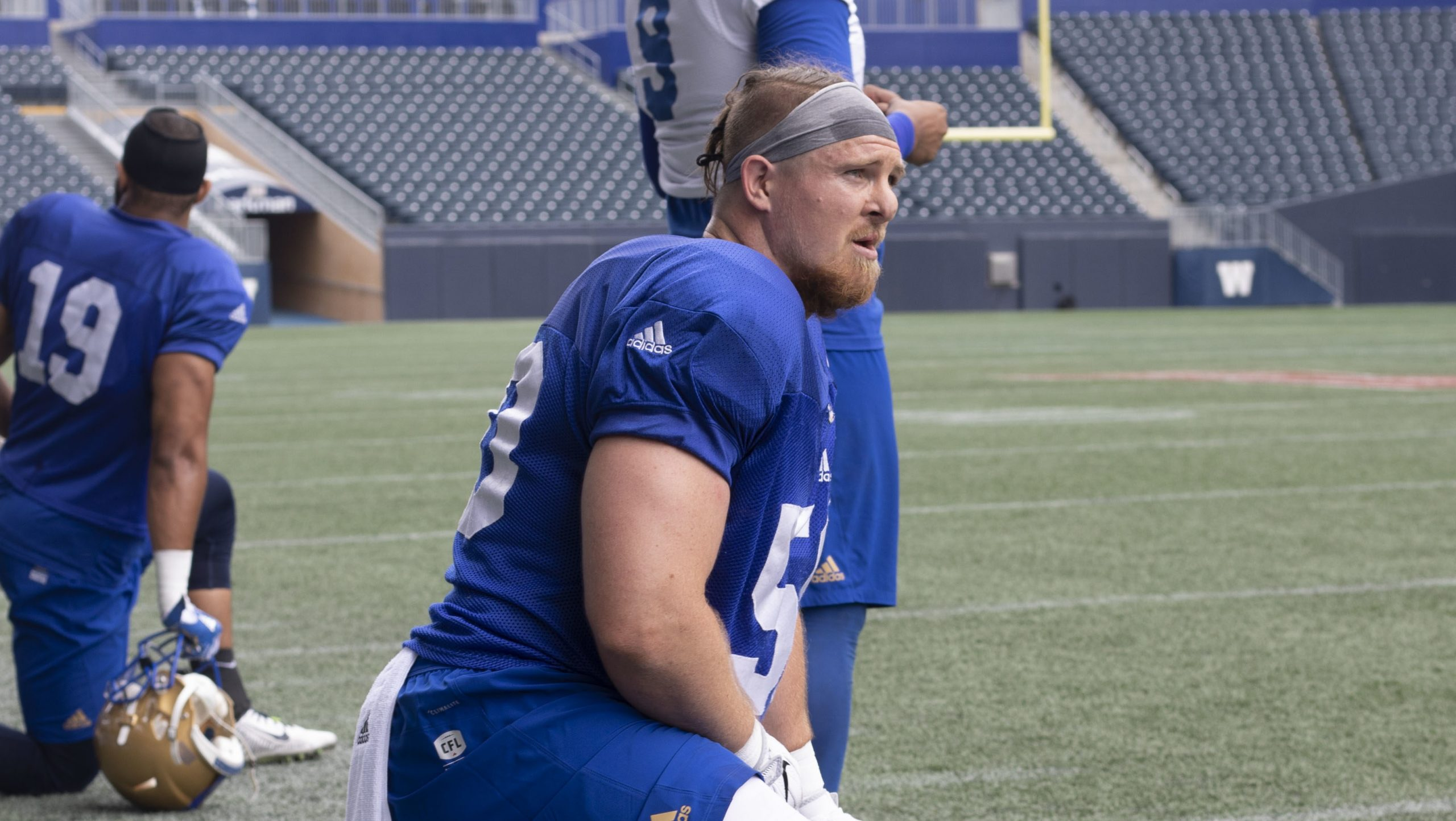 INTERVIEW: Winnipeg Blue Bombers linebacker Adam Bighill