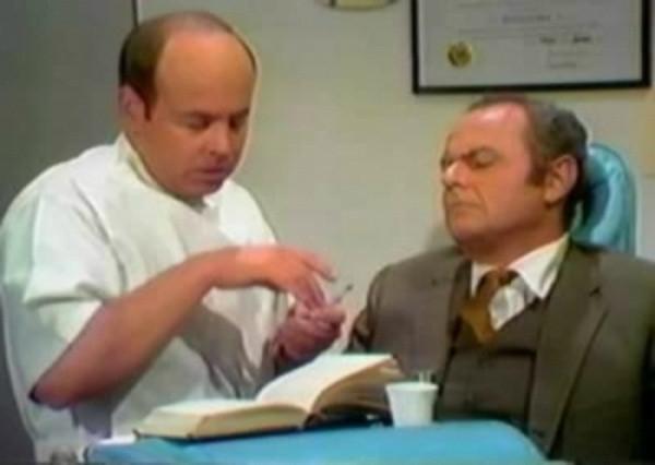 WATCH: Tim Conway's comic genius as The Dentist on the Carol Burnett Show.