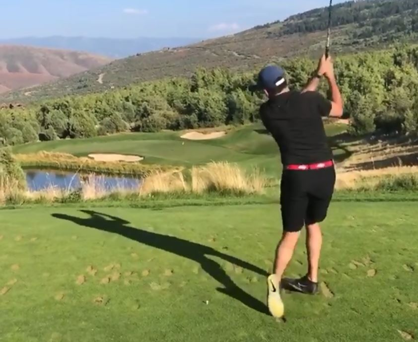 WATCH: Man's hole-in-one celebration is on point!