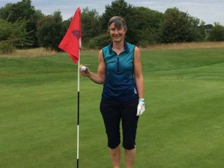 Amateur golfer jugs three aces in one...miracle...round.