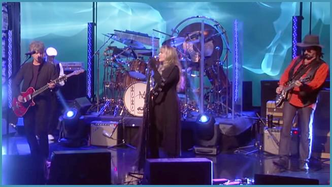 "WATCH: Fleetwood Mac's new lineup performs on ""Ellen""."