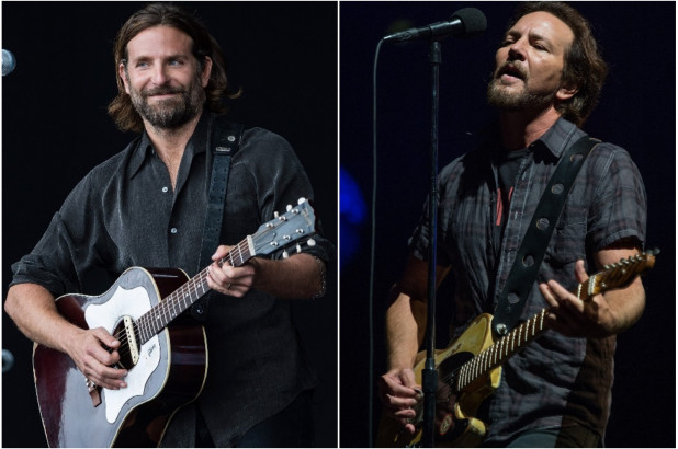 If Bradley Cooper wins an Oscar for A Star Born, he might have Eddie Vedder to thank.