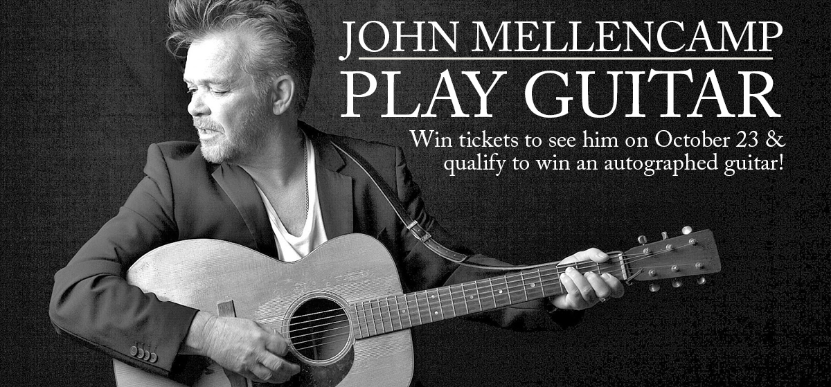 John Mellencamp Play Guitar