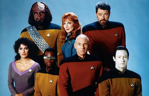 Star Trek: The Next Generation reunites in new photo.