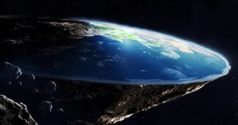 THE EARTH IS ACTUALLY FLAT : OH COME ON!!!