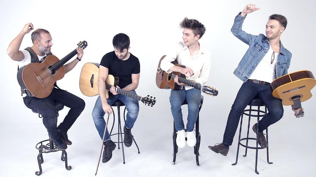 "WATCH: Super-cool all-acoustic rendition of AC/DC's ""Thunderstruck""!"