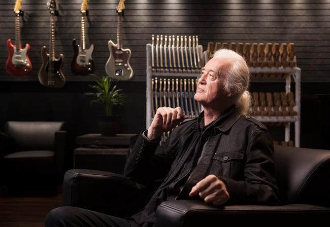 "Jimmy Page...on 50 years of Led Zep: ""Absolutely just a roller coaster ride!"""