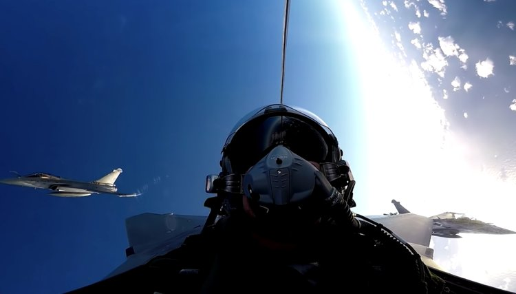 WATCH: The bliss-out video you wouldn't expect...featuring French fighter jets.