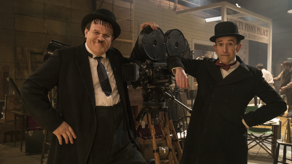 WATCH: The trailer for the new Laurel & Hardy biopic.