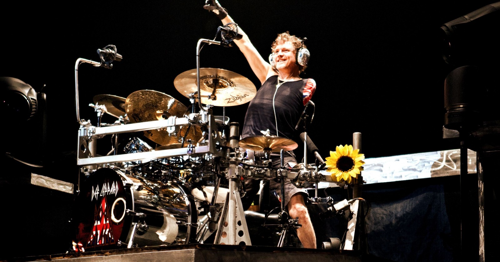 WATCH: Def Lep's Rick Allen talks about the accident, the aftermath..and how he learned to play again.