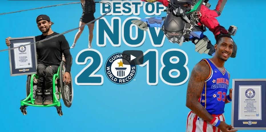 WATCH: The Best Guinness World Records set in November.