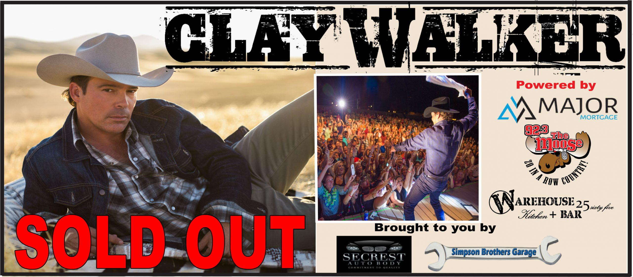 Feature: https://www.eventbrite.com/e/clay-walker-tickets-53318454934