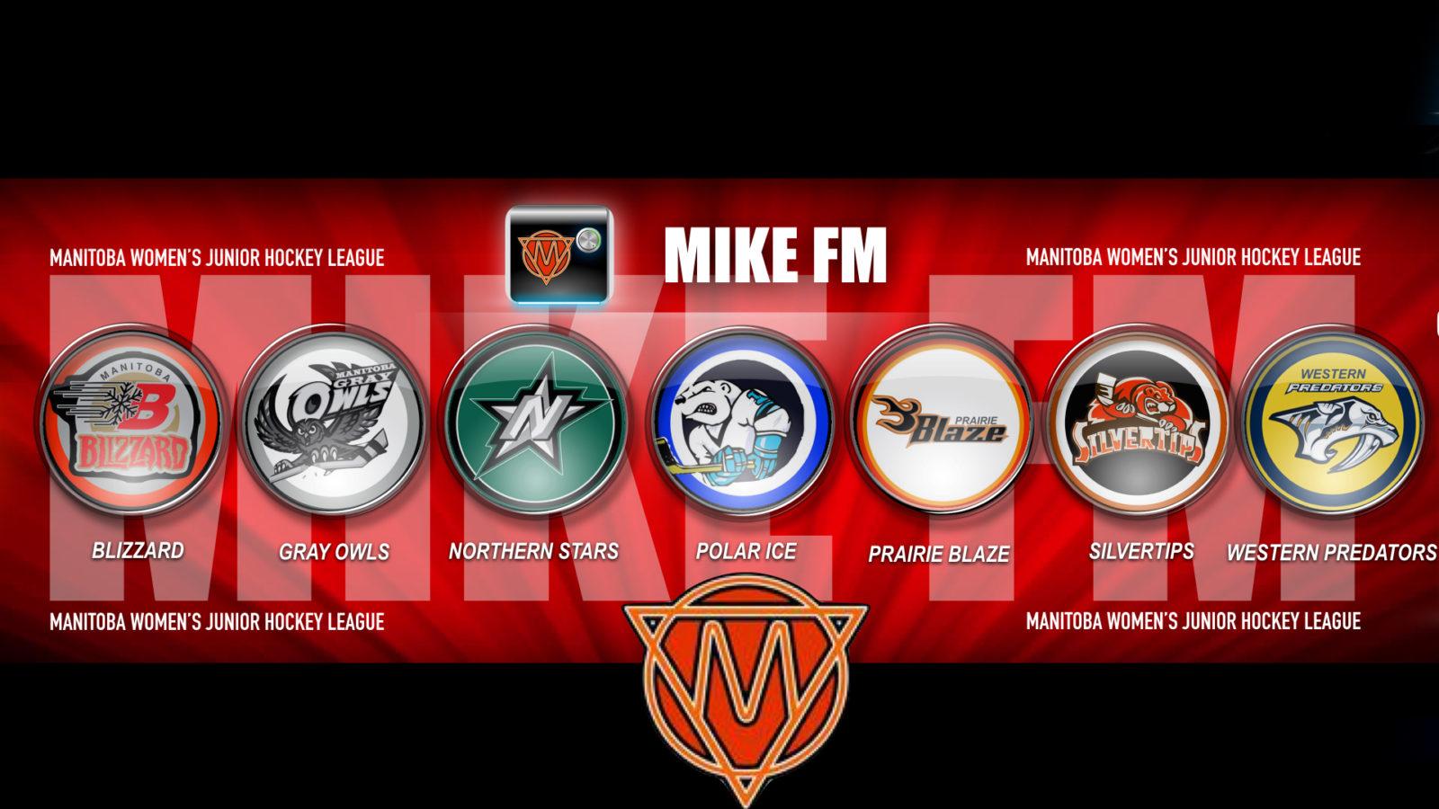 Manitoba Women S Junior Hockey League Mike Fm Winnipeg