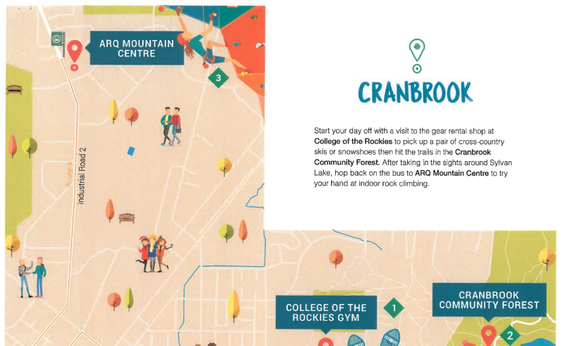 Cranbrook 1 of 5 communities in 'Explore BC By Bus' campaign