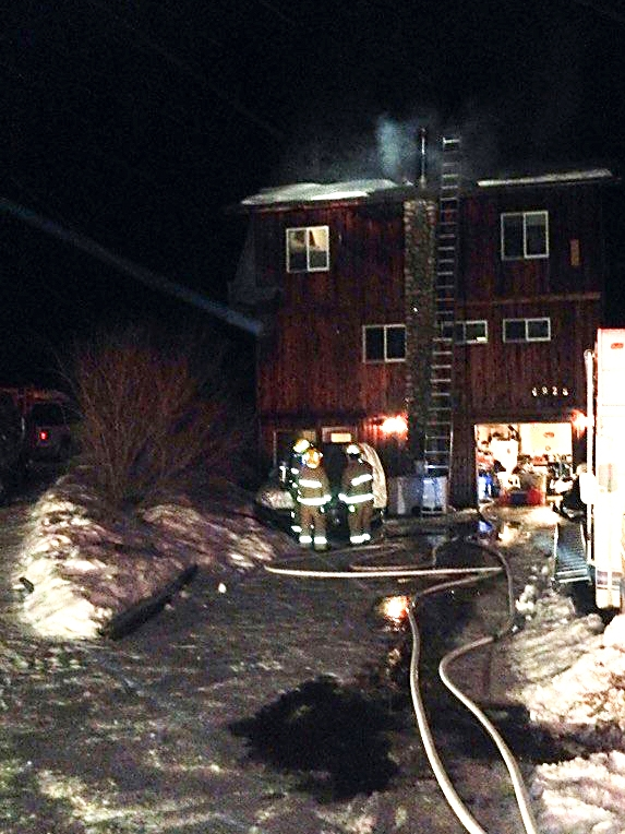 Fairmont home saved after overnight fire contained