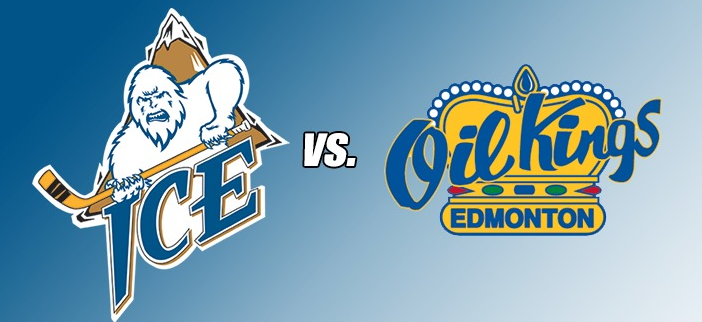 WHL: ICE look to repeat success against Oil Kings