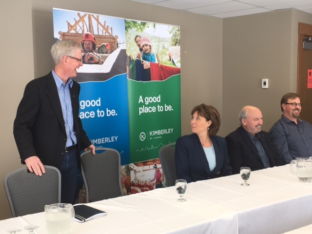 Premier Christy Clark says she hears concerns of East Kootenay businesses