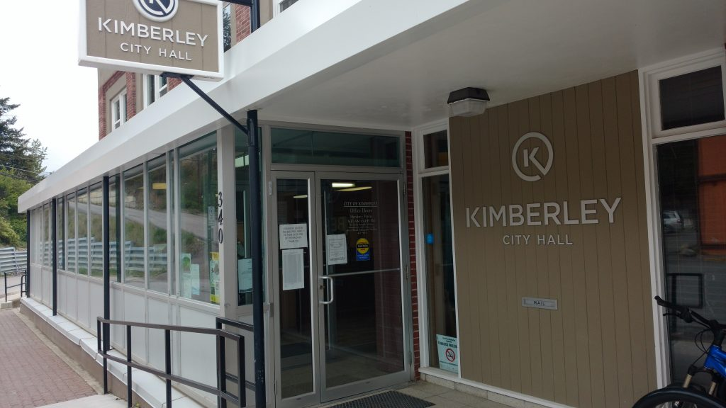 Kimberley's 2017 budget could include 1.9% Residential Tax Increase