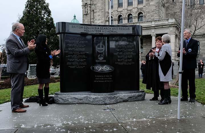 SAR Memorial in Victoria includes fallen East Kootenay volunteers