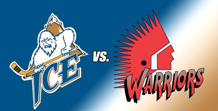 WHL: ICE prepare to battle Warriors